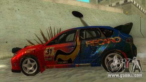 Subaru Impreza WRX STi 2011 ,,Response,, for GTA San Andreas left view