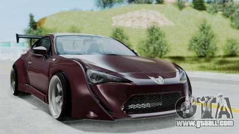 Toyota GT-86 Rocket Bunny for GTA San Andreas