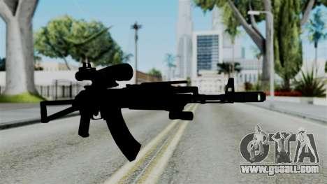 AK-103 OGA for GTA San Andreas