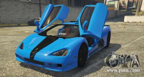 GTA 5 SSC Ultimate Aero [Replace] 1.0 back view