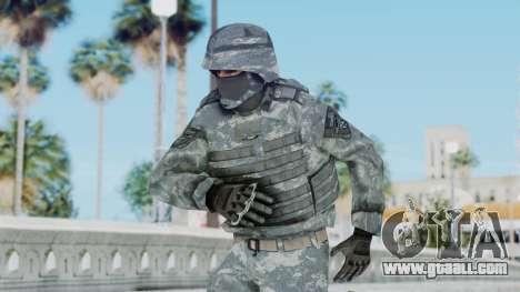 Acu Soldier Balaclava v2 for GTA San Andreas