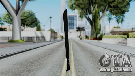 No More Room in Hell - Machete for GTA San Andreas second screenshot