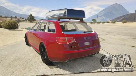 Audi RS6 Avant C6 2009 for GTA 5