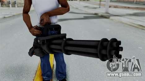 GTA 5 Minigun for GTA San Andreas