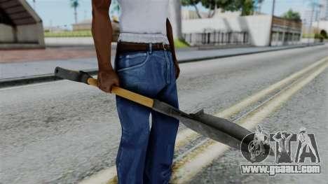 No More Room in Hell - Shovel for GTA San Andreas third screenshot