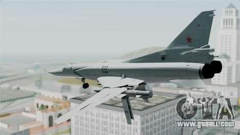 TU-22M3 Green for GTA San Andreas right view