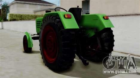 Torpedo Traktor for GTA San Andreas left view