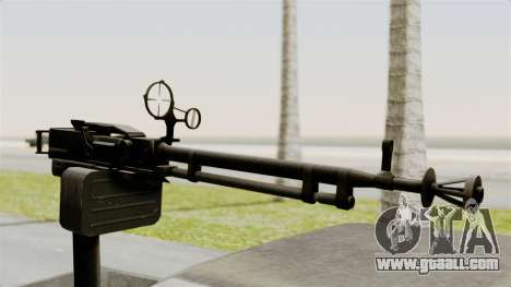GTA 5 Karin Technical Machinegun for GTA San Andreas right view