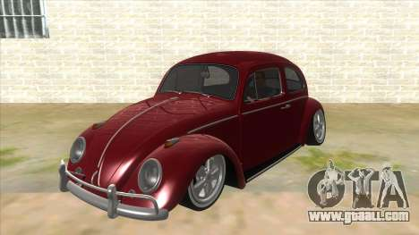 Volkswagen Beetle Aircooled V2 for GTA San Andreas