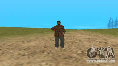 Skin FAM3 for GTA San Andreas