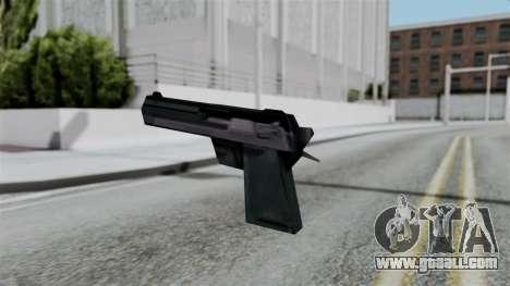 Vice City Beta Desert Eagle for GTA San Andreas second screenshot
