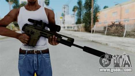 SCAR-20 v1 Folded for GTA San Andreas third screenshot