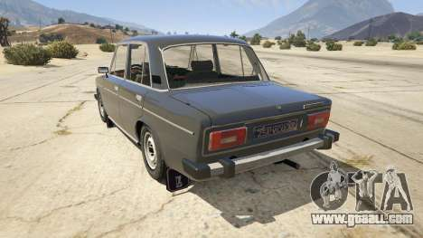 GTA 5 VAZ 2106 rear left side view