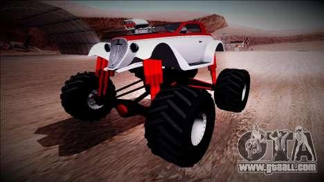 GTA 5 Hotknife Monster Truck for GTA San Andreas