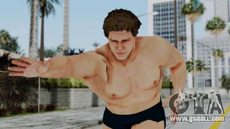 Andre Giga for GTA San Andreas