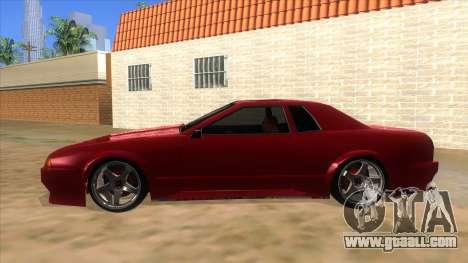 GTR Elegy for GTA San Andreas left view