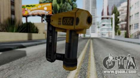 Vice City Beta Nailgun for GTA San Andreas second screenshot