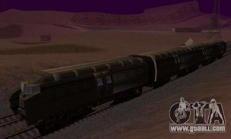 Batman Begins Monorail Train v1 for GTA San Andreas inner view