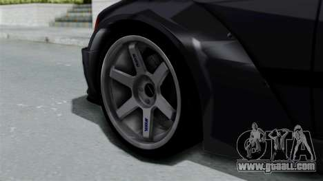 BMW M3 E36 Widebody for GTA San Andreas back left view