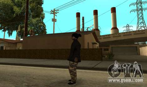 BALLAS3 for GTA San Andreas second screenshot