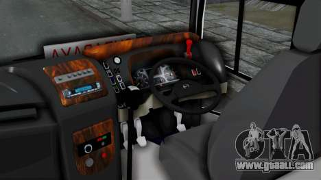 Laksana Legacy Hino AK8 Sugeng Livery for GTA San Andreas back left view