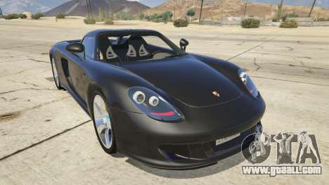 Porsche Carrera GT for GTA 5