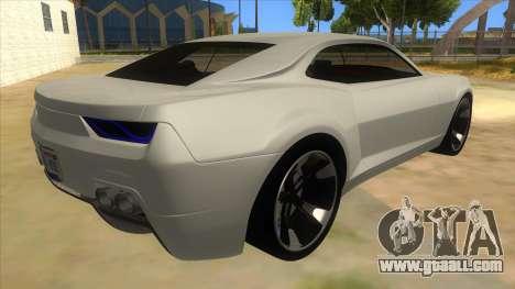 Chevrolet Camaro DOSH tuning MQ for GTA San Andreas right view