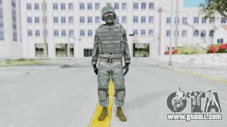 Acu Soldier Balaclava v3 for GTA San Andreas second screenshot