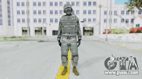 Acu Soldier Balaclava v3 for GTA San Andreas second screenshot