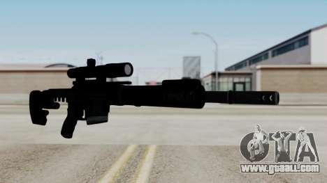 McMillan CS5 No Bipod for GTA San Andreas