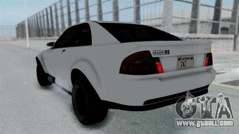 GTA 5 Karin Sultan RS Stock PJ for GTA San Andreas interior