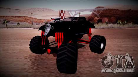 GTA 5 Hotknife Monster Truck for GTA San Andreas right view
