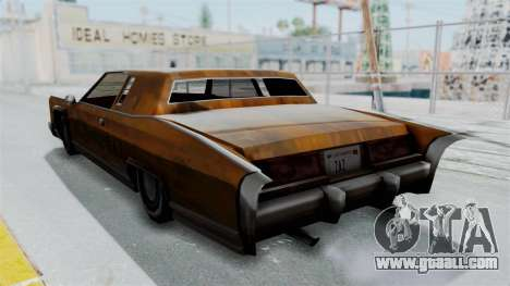 Vinyl Rust for Remington for GTA San Andreas right view