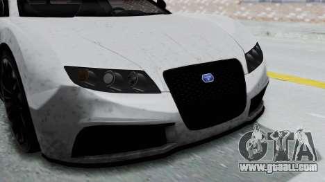GTA 5 Truffade Adder v2 IVF for GTA San Andreas back view
