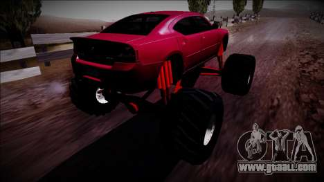 2006 Dodge Charger SRT8 Monster Truck for GTA San Andreas left view
