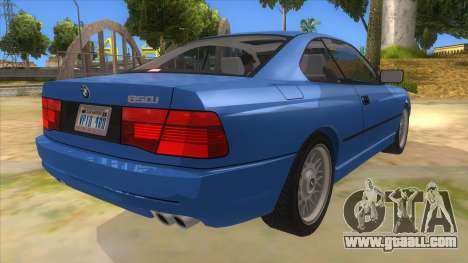 BMW 850i E31 for GTA San Andreas right view