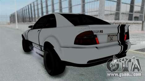 GTA 5 Karin Sultan RS Stock PJ for GTA San Andreas upper view