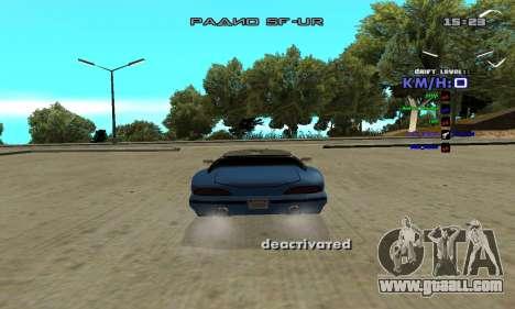 Drift Camera for GTA San Andreas second screenshot