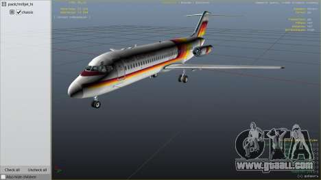 GTA 5 McDonnell Douglas DC-9-15 sixth screenshot
