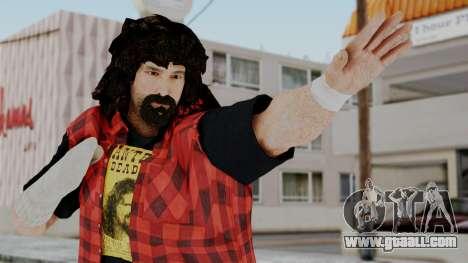 WWE Mick Foley for GTA San Andreas
