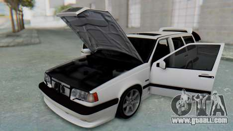 Volvo 850R 1997 Tunable for GTA San Andreas inner view