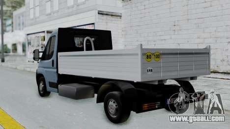Fiat Ducato Pickup for GTA San Andreas left view