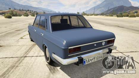 GTA 5 Peykan rear left side view