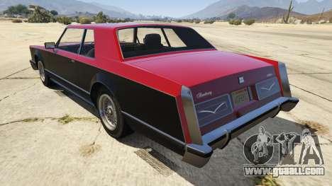 GTA 5 GTA IV Virgo rear left side view