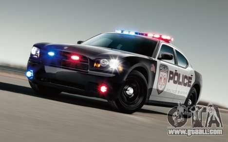 Cool police lights for GTA San Andreas