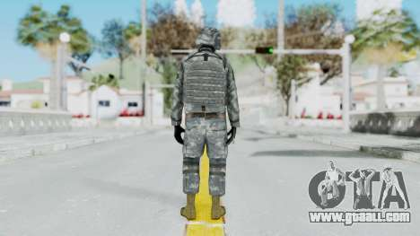 Acu Soldier Balaclava v2 for GTA San Andreas third screenshot