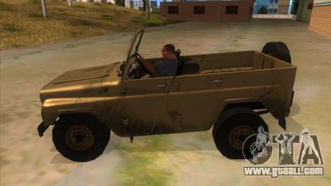 UAZ-469 Desert for GTA San Andreas
