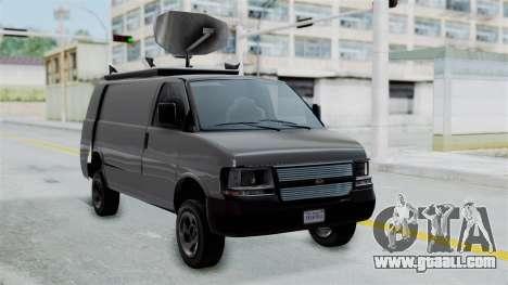 Vapid Speedo Newsvan for GTA San Andreas