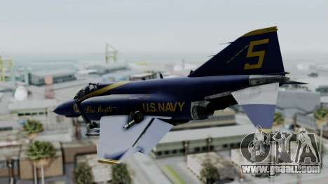 McDonnell Douglas RF-4B Blue Angels for GTA San Andreas left view