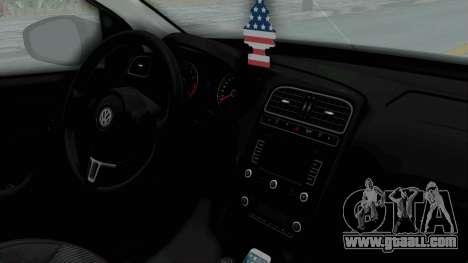 Volkswagen Polo 6R 1.4 HQLM for GTA San Andreas right view